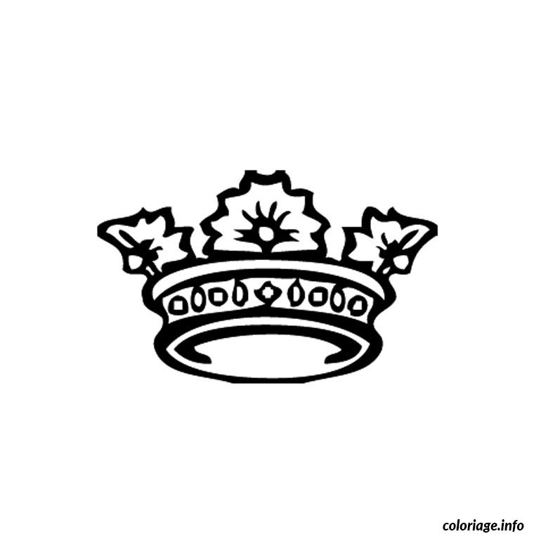 Favori Coloriage Couronne Princesse dessin RO23