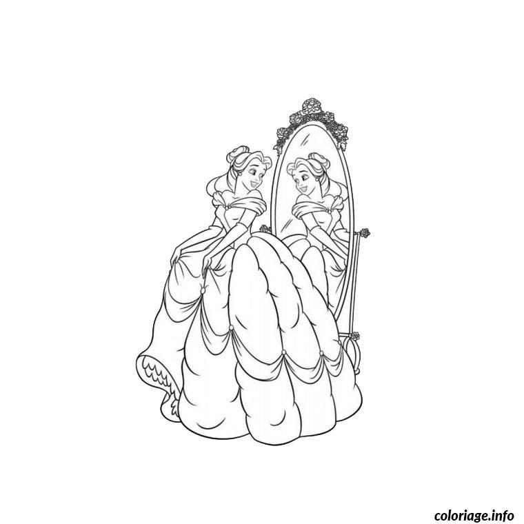 Coloriage jolie princesse dessin - Coloriage jolie ...