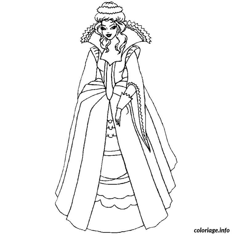 Coloriage Sur Ordinateur Princesse Dessin Princesse A Imprimer