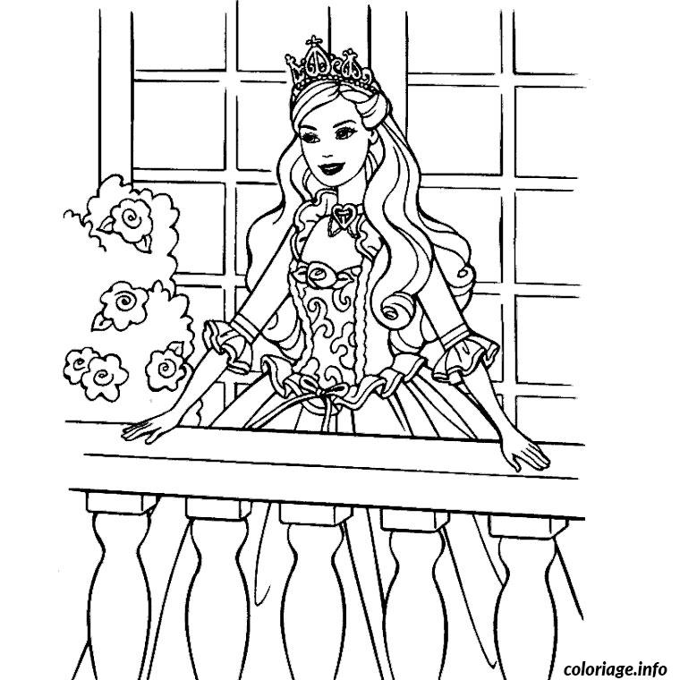 Coloriage barbie 3 mousquetaires - Barbie a colorier ...