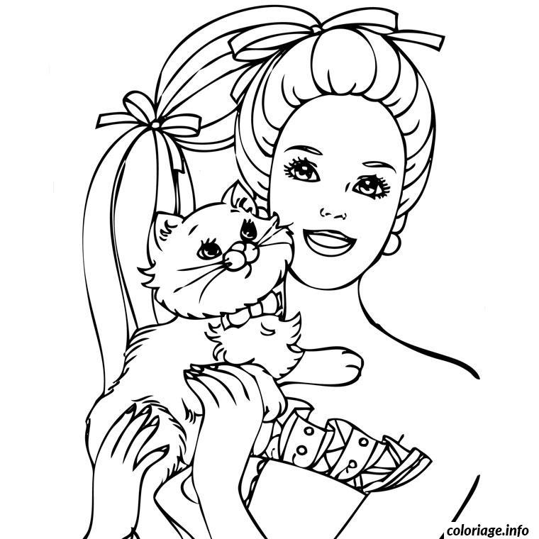 Coloriage Barbie Mousquetaire dessin