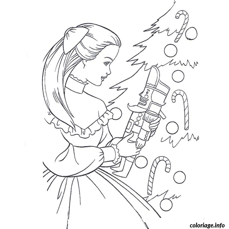 Coloriage barbie magie de noel dessin - Dessin de barbie facile ...