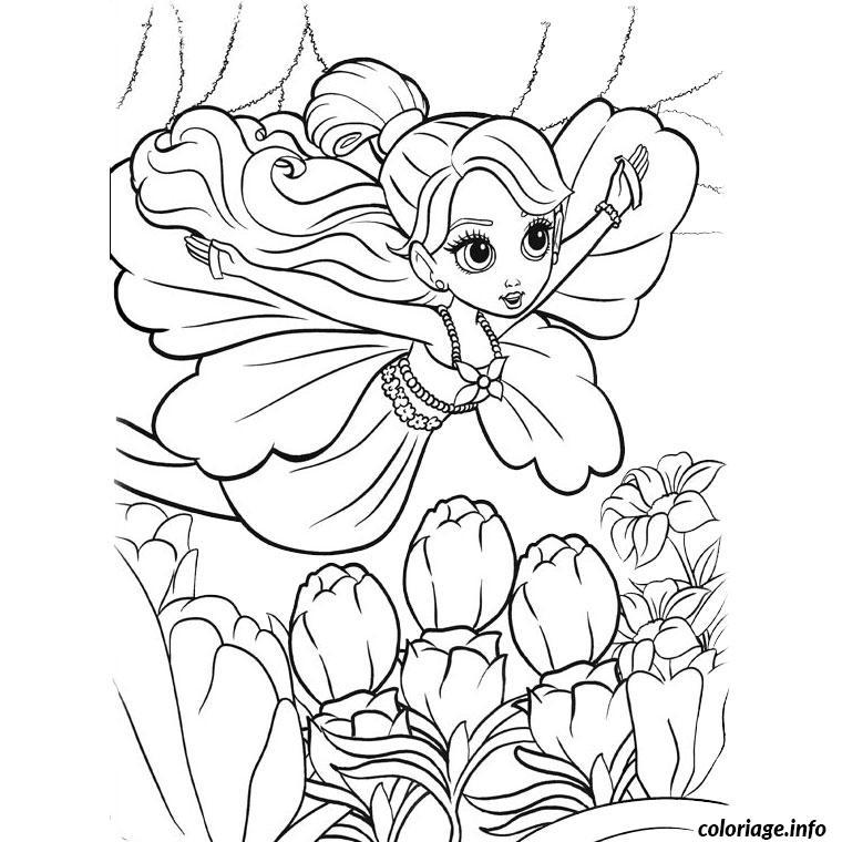 Coloriage barbie papillon dessin - Coloriage de barbie ...