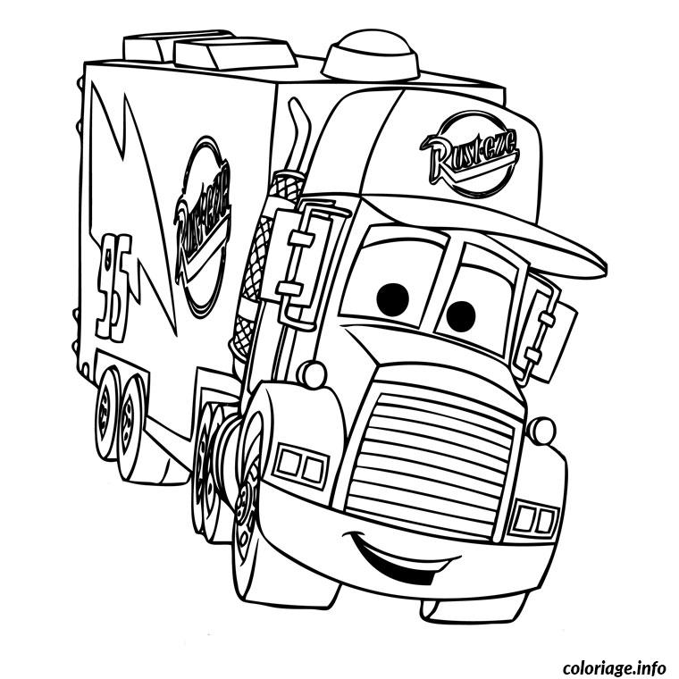 Coloriage Cars 2 Dessin