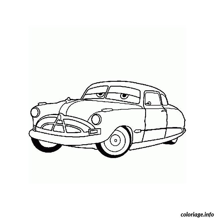 Coloriage Cars Doc dessin