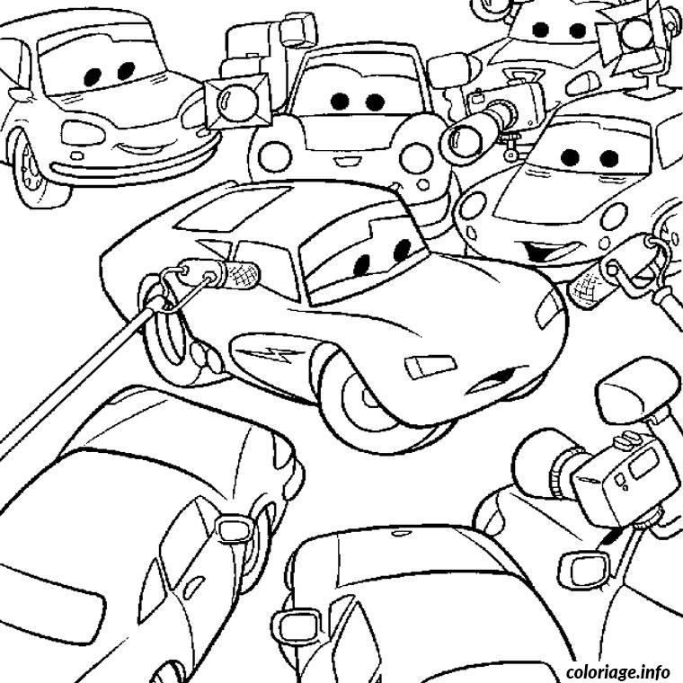 coloriage cars walt disney dessin imprimer