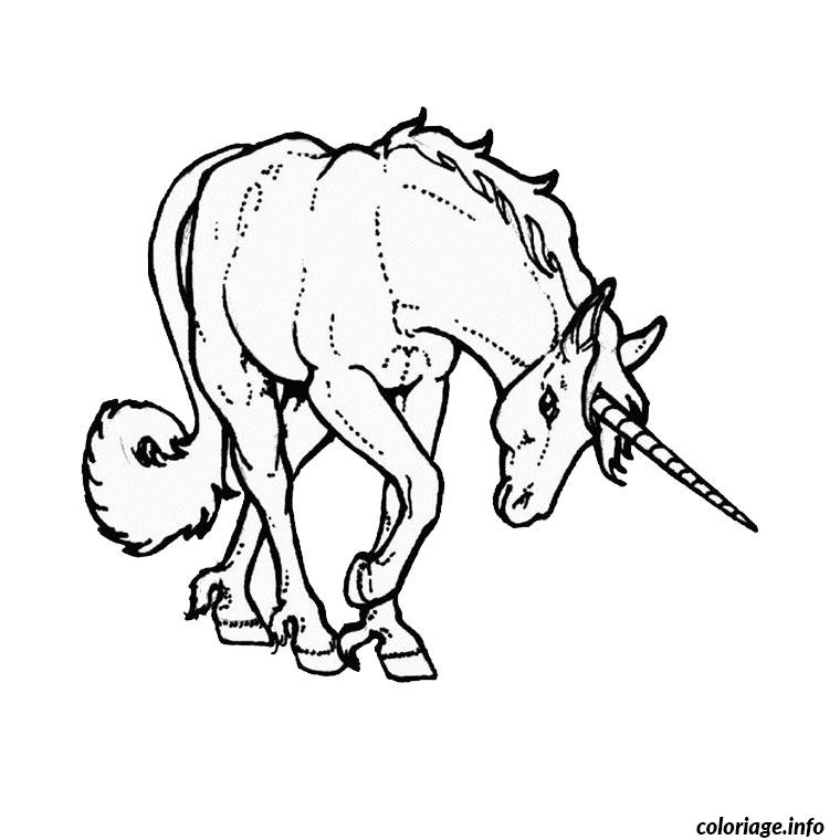 Coloriage chevaux et licorne dessin - Coloriage chevaux ...
