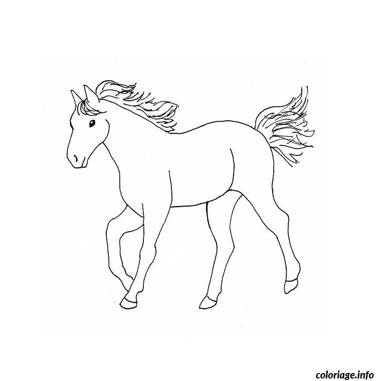 Coloriage cheval western dessin - Chevaux a colorier et a imprimer ...