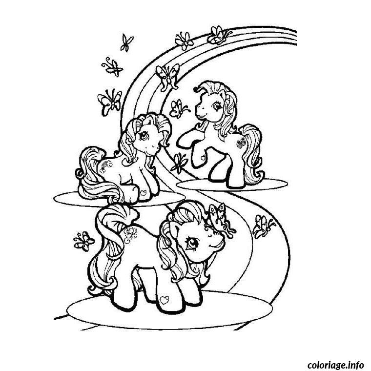 Coloriage chevaux et poneys dessin - Coloriage cheveaux ...