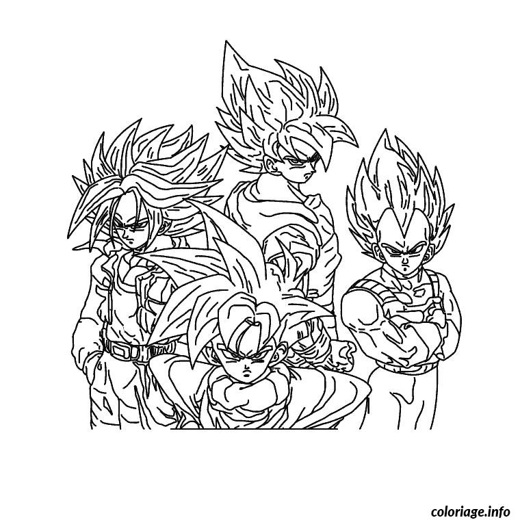 Coloriage dragon ball z dessin - Dessin dragon ball z facile ...