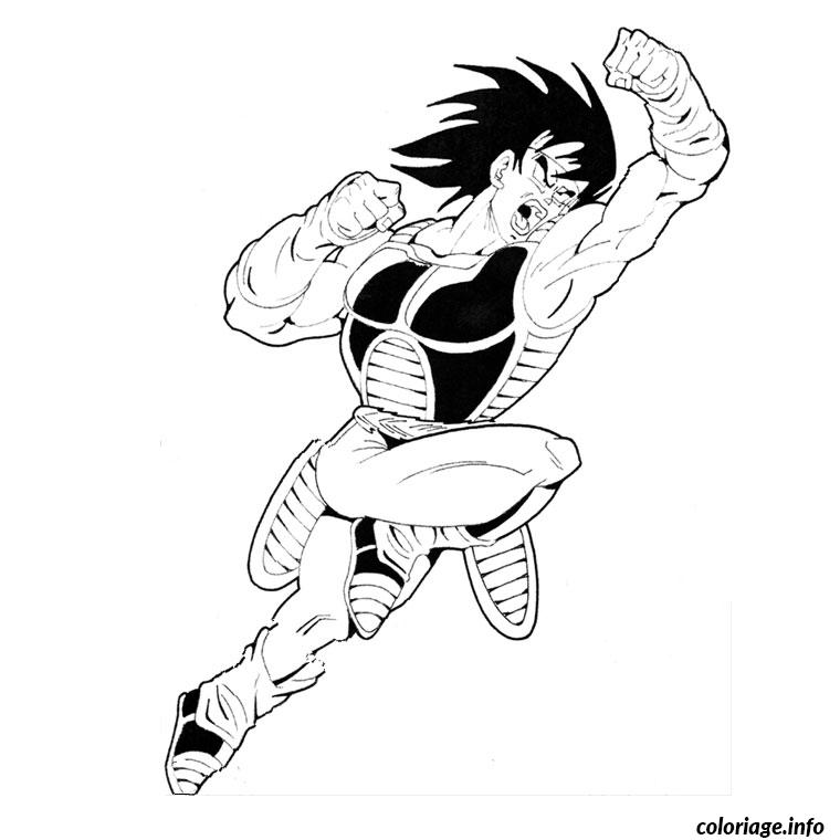 Coloriage dragon ball z bardock - Coloriage gratuit dragon ball z ...
