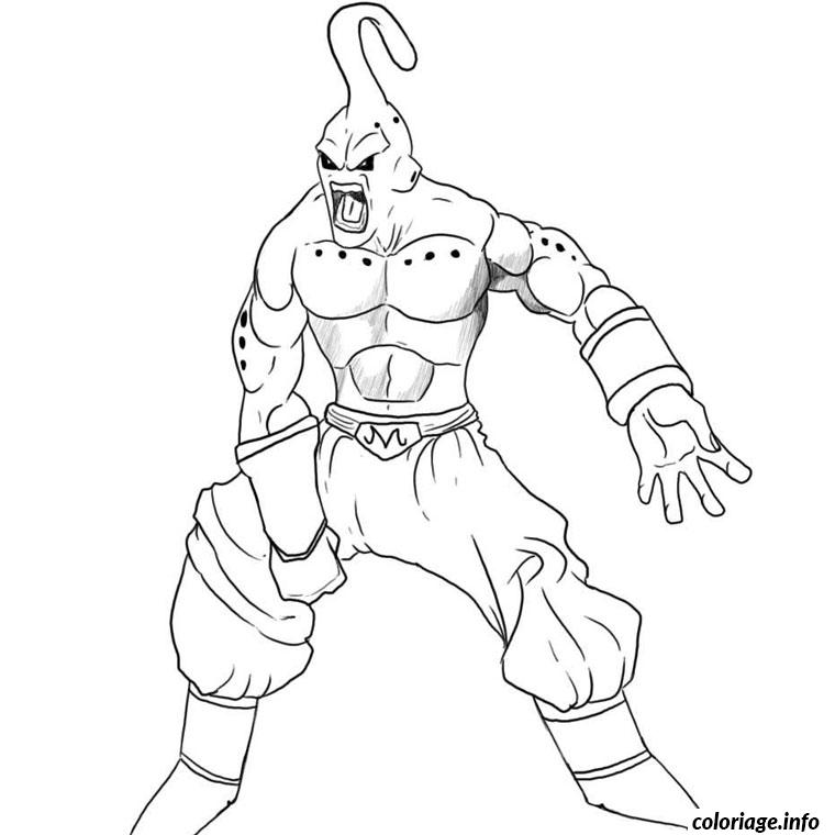 Coloriage dragon ball z buu - Dessin de dragon ball super ...