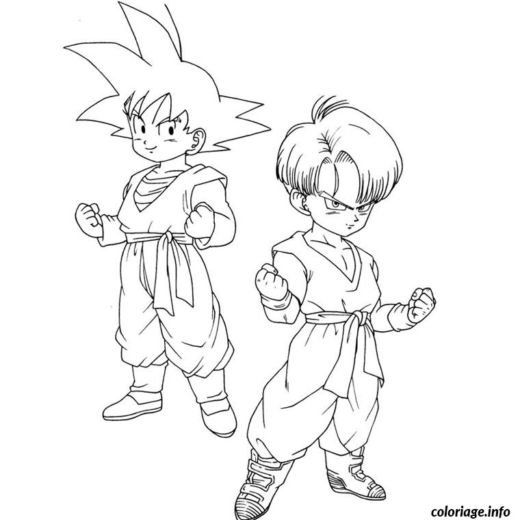 Coloriage Dragon Ball Z Gt Jecolorie Com