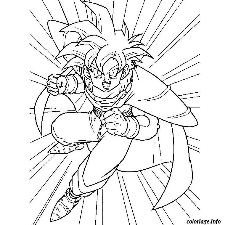 Coloriage dragon ball z sangohan - Coloriage sangohan ...