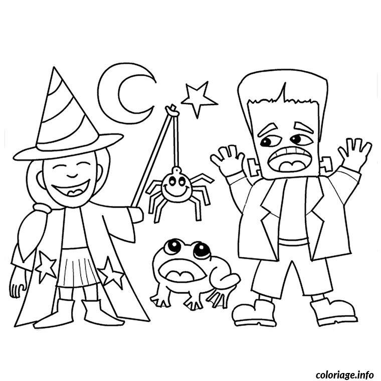 Dessin halloween tv Coloriage Gratuit à Imprimer