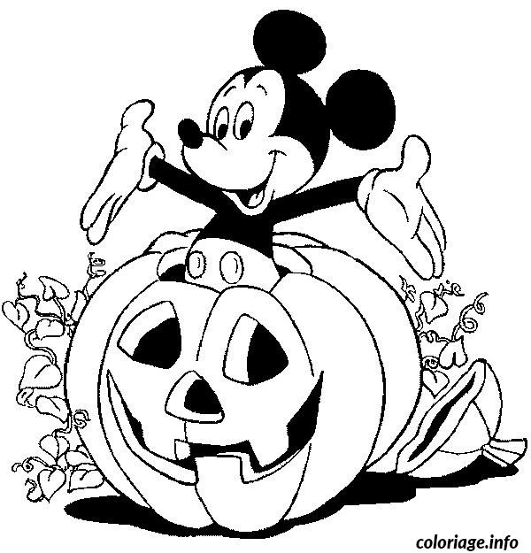 Coloriage En Ligne Halloween.Coloriage Halloween Disney Dessin Halloween A Imprimer
