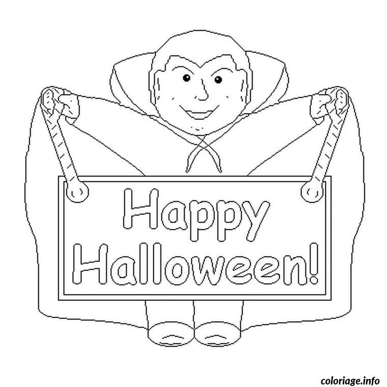 Dessin Joyeux Halloween.Coloriage Joyeux Halloween Dessin Halloween A Imprimer