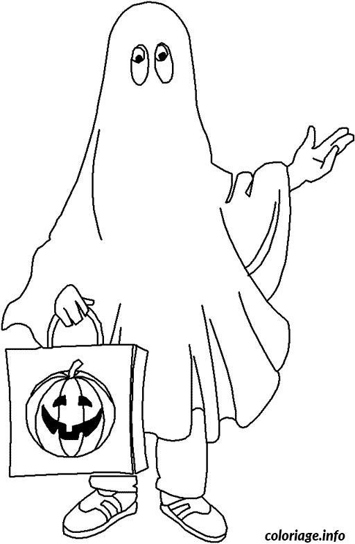 Dessin halloween anglais Coloriage Gratuit à Imprimer