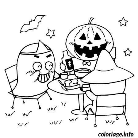 Coloriage halloween gs dessin - Dessin a colorier d halloween ...
