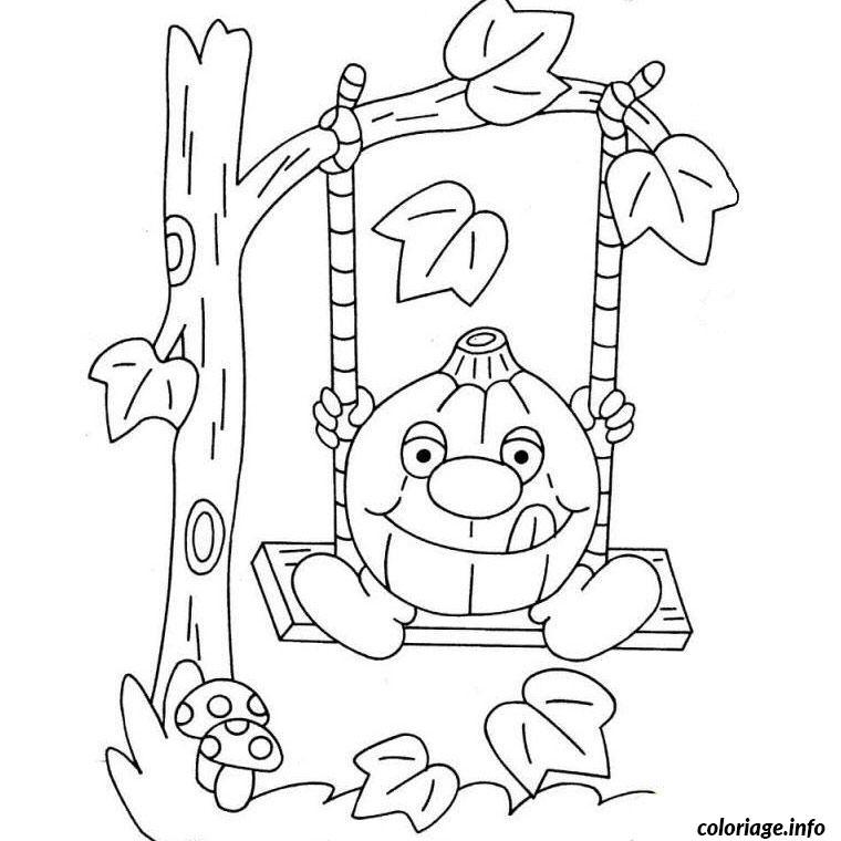 Coloriage citrouille magique dessin - Citrouille a imprimer gratuit ...