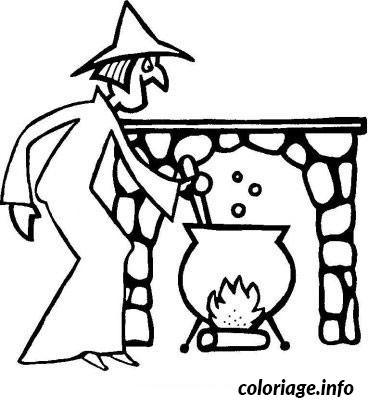 Dessin halloween en anglais Coloriage Gratuit à Imprimer