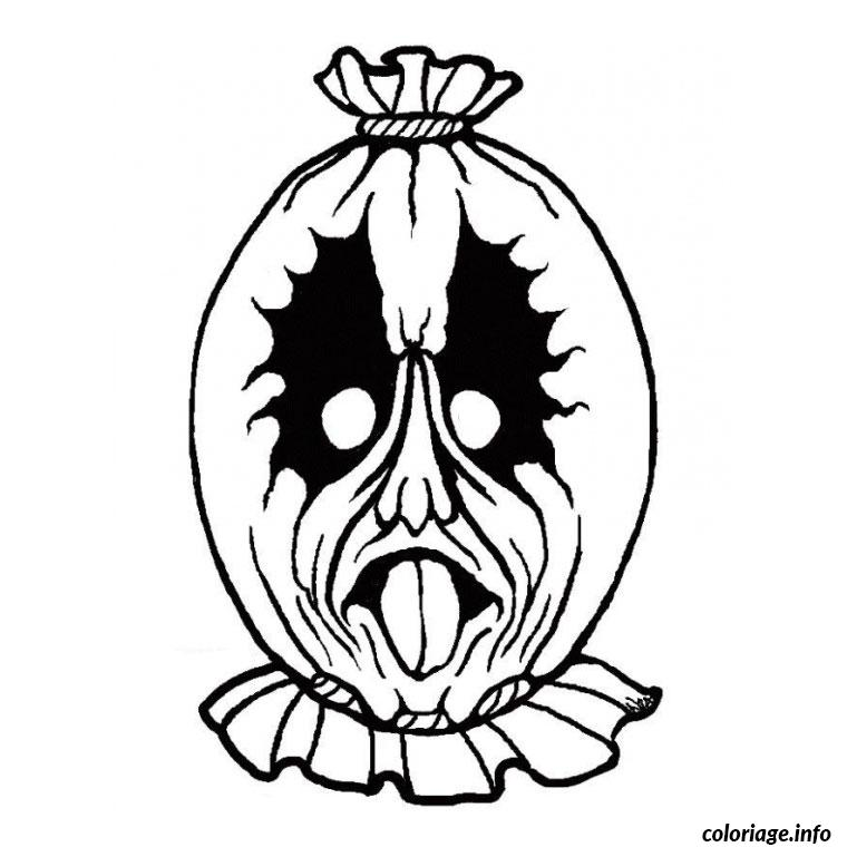 halloween masque coloriage 470
