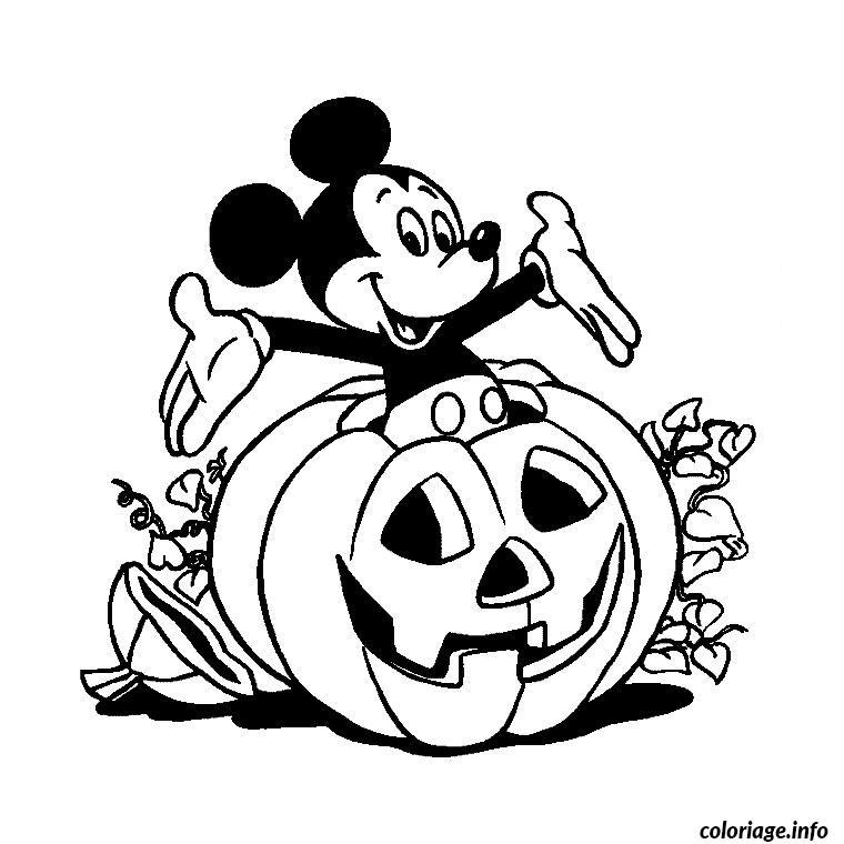 Coloriage Halloween Heros dessin