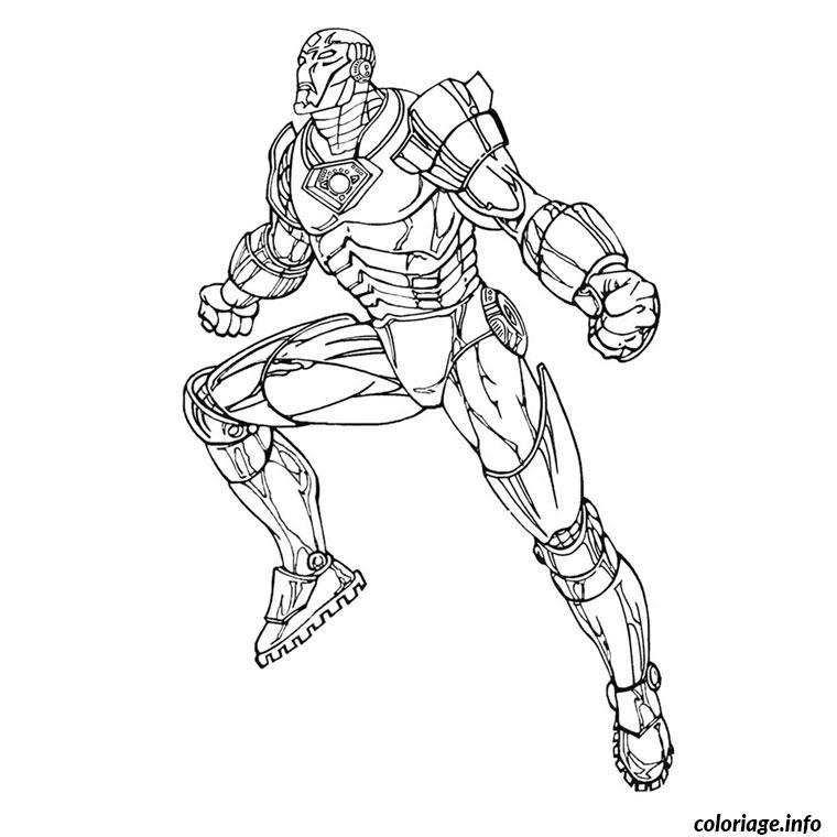 Coloriage iron man 2 dessin - Ironman coloriage ...
