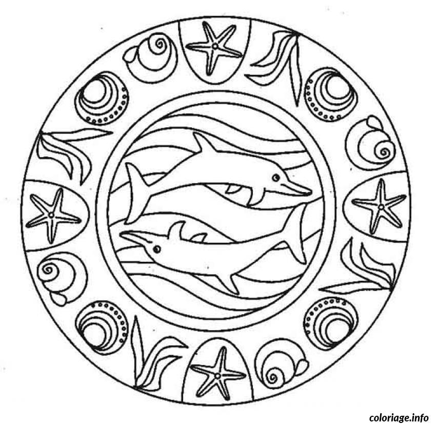 Coloriage mandala difficile 22 dessin - Mandala a colorier en ligne ...