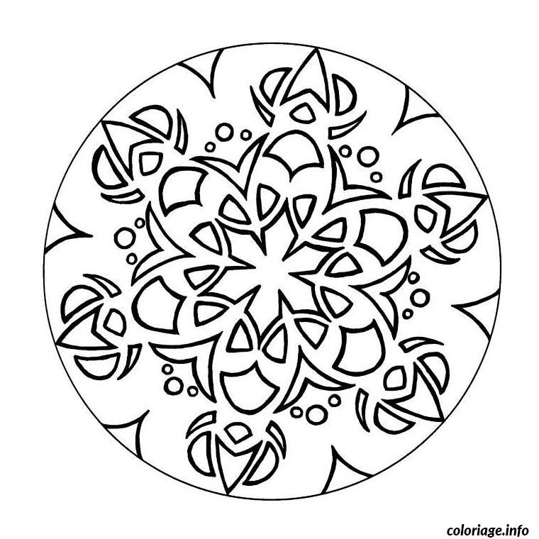 Coloriage Mandala Ce2 Dessin