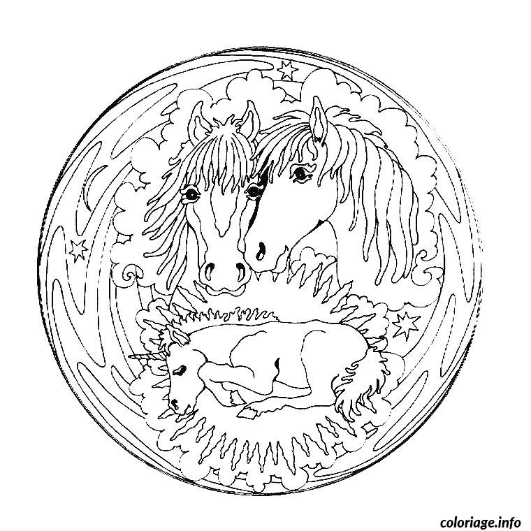 Coloriage mandala simple dessin - Mandala a imprimer gratuit ...