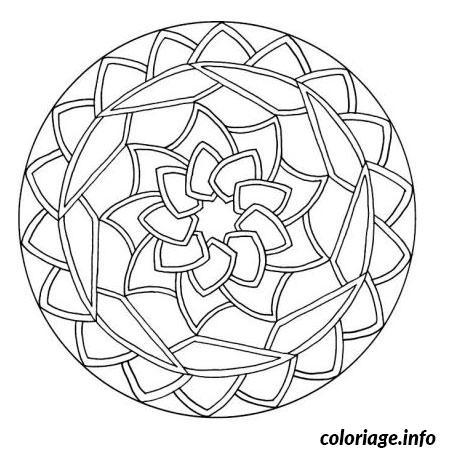 Coloriage Magique Japon.Coloriage Mandala Japonais Dessin