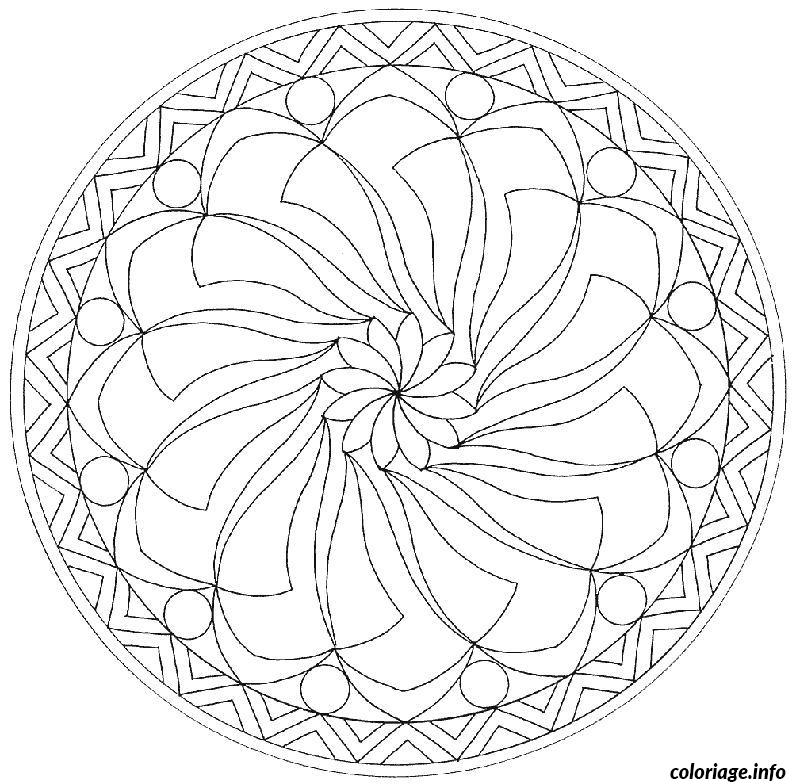 coloriage mandala difficile 13. Black Bedroom Furniture Sets. Home Design Ideas