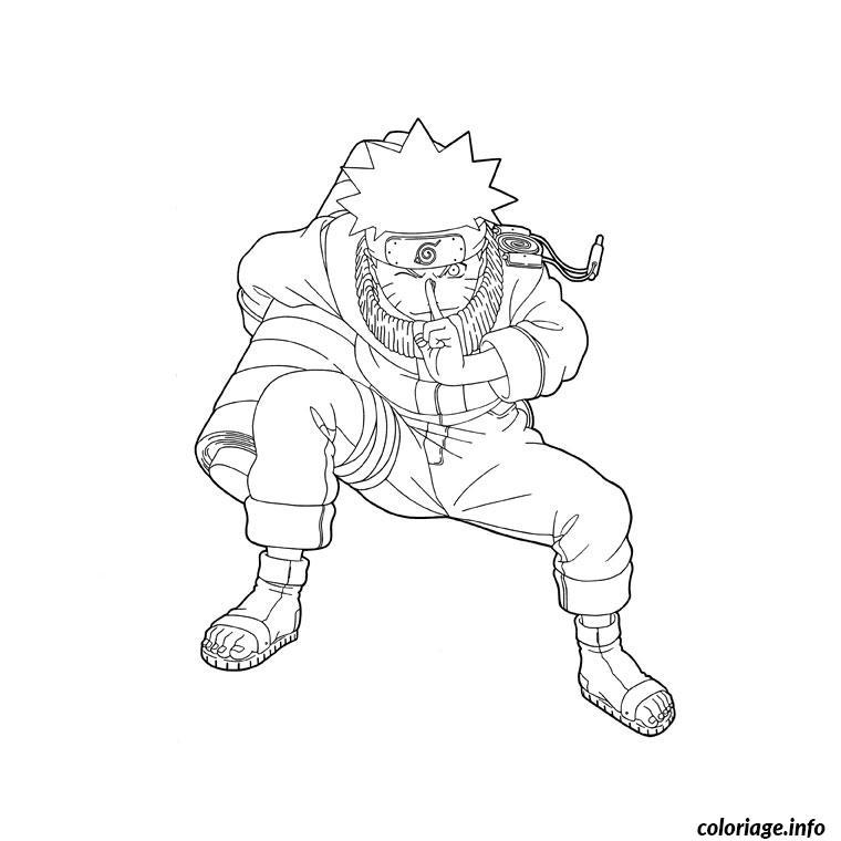 Coloriage Naruto Uzumaki Dessin
