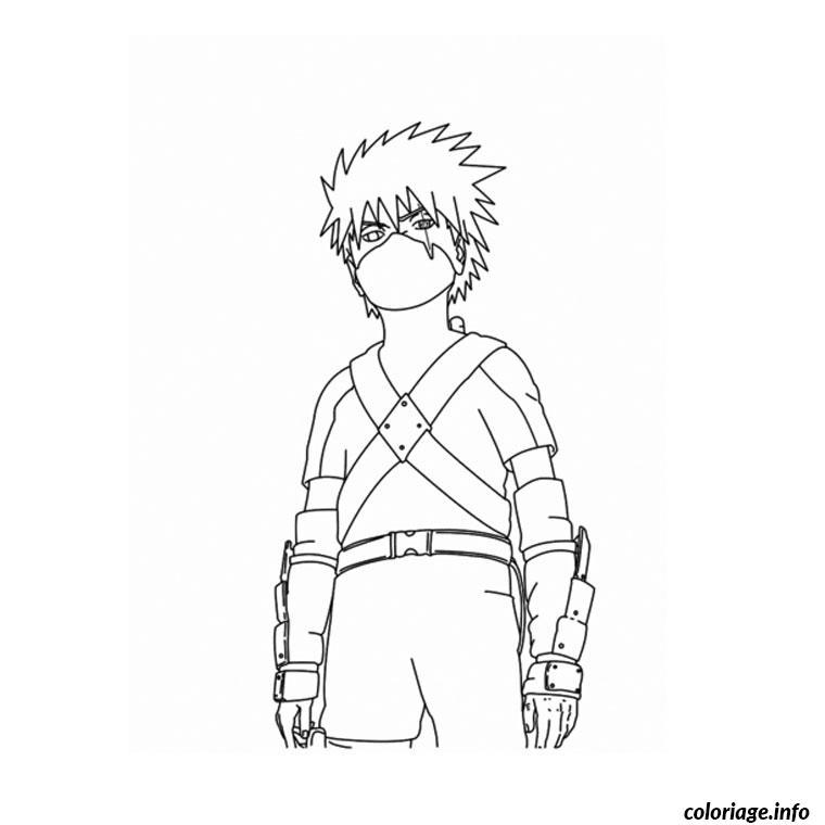 Coloriage Naruto Dessin