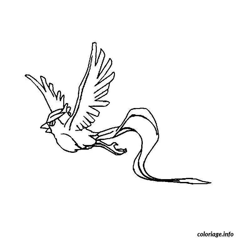 Dessin pokemon artikodin Coloriage Gratuit à Imprimer