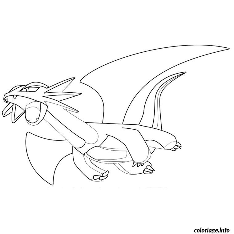 Coloriage pokemon drattak dessin - Coloriage pokemon legendaire a imprimer ...