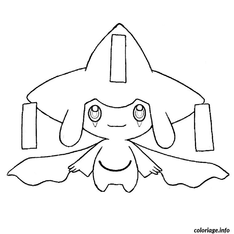 Coloriage pokemon jirachi - Dessiner pokemon ...
