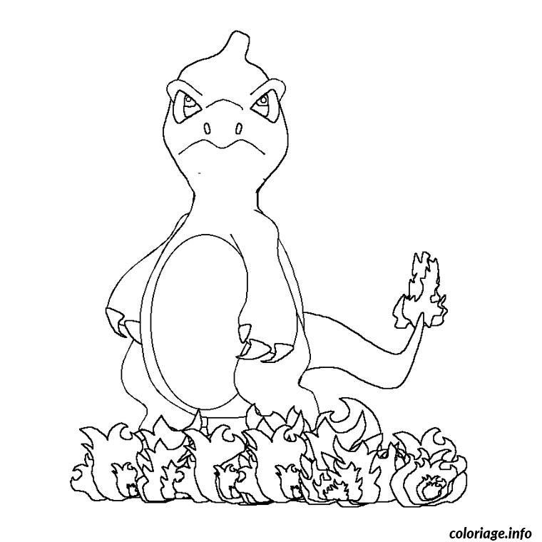Dessin pokemon evolution Coloriage Gratuit à Imprimer