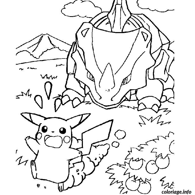 Coloriage pokemon fort - Coloriage carte pokemon ...