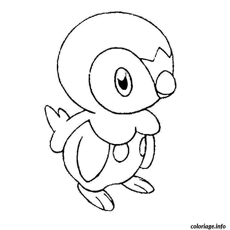 Coloriage pokemon tiplouf dessin - Dessins de pokemon ...