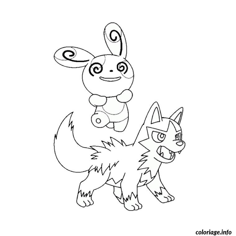 Coloriage Evolution Pokemon Dessin à Imprimer