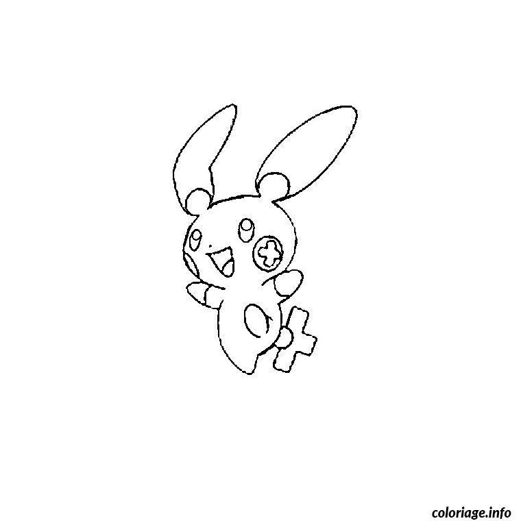 Dessin pokemon posipi Coloriage Gratuit à Imprimer