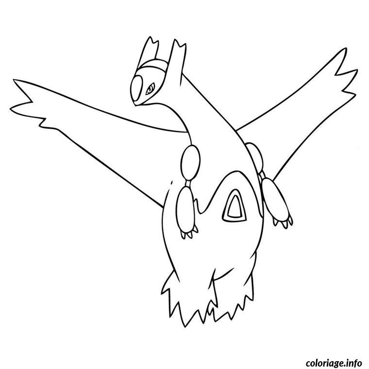 Dessin pokemon latias Coloriage Gratuit à Imprimer