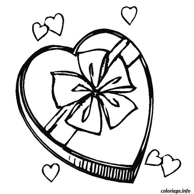 Coloriage coeur fete des meres dessin - Dessin fete des grand meres ...