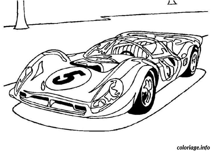 Coloriage Voitures Ferrari Jecoloriecom
