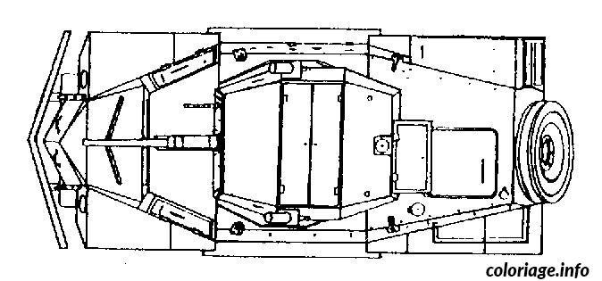 Dessin dessin voiture vue dessus Coloriage Gratuit à Imprimer