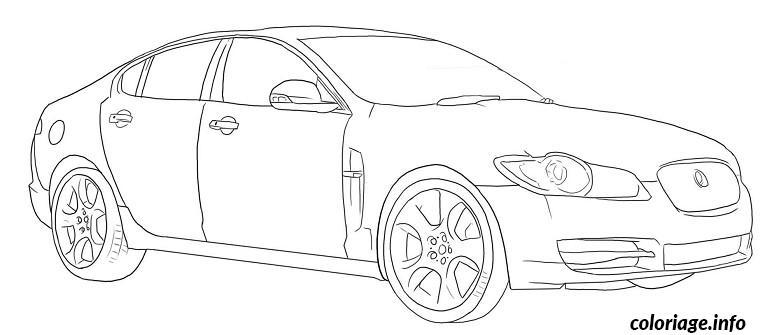 coloriage de voitures de sport