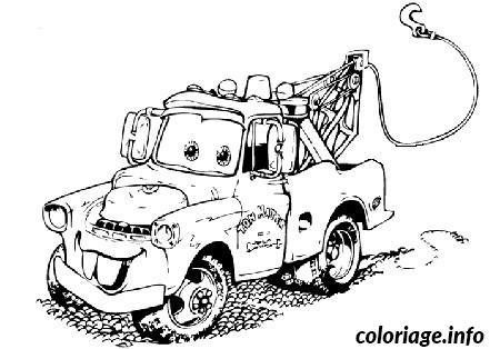 Dessin image voiture cars Coloriage Gratuit à Imprimer