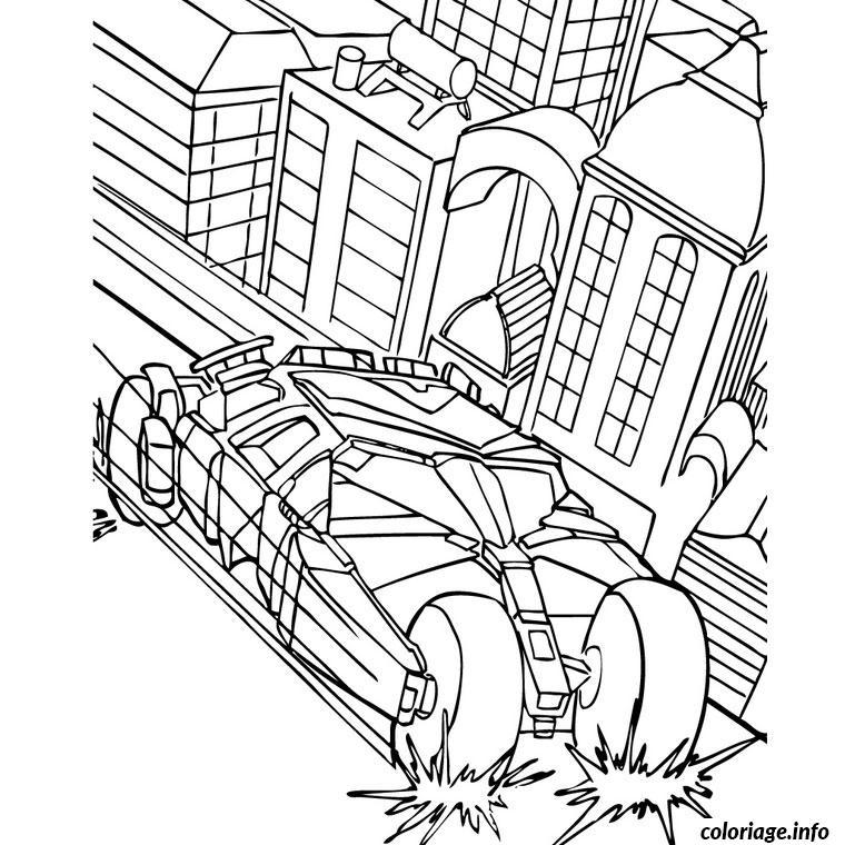 Coloriage batman voiture dessin - Coloriage a imprimer batman gratuit ...